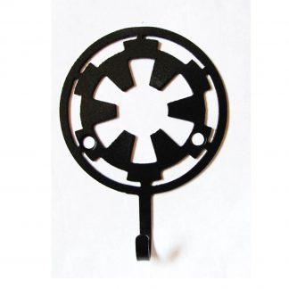 metal star wars imperial symbol wall hook, star wars wall art
