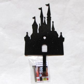 metal princess castle wall hooks, princess castle wall art