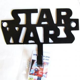 metal star wars wall hook, star wars wall art