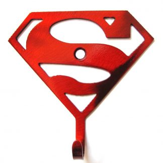 metal superman wall hook, superhero wall art