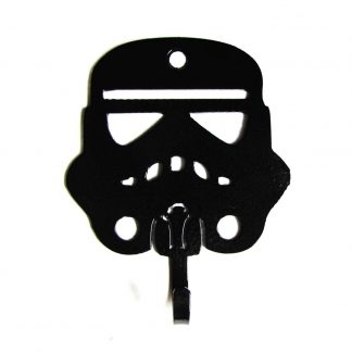 metal storm trooper wall hooks, star wars wall art