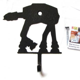 metal star wars at at wall hooks, star wars wall art