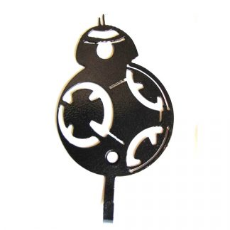metal star wars bb8 wall hooks, star wars wall art