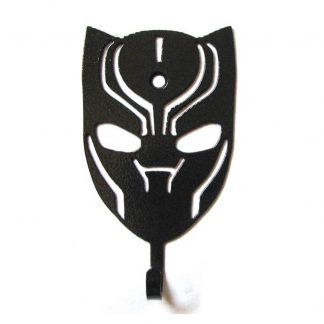 metal black panther wall hooks, black panther wall art