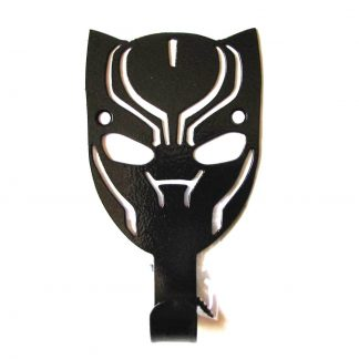 metal black panther wall hooks, avengers wall art