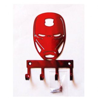 metal iron man wall hooks