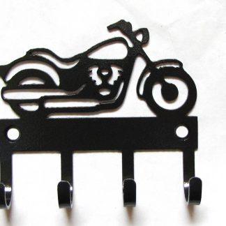 metal motorcycle wall hooks