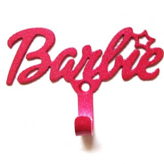 metal barbie wall hook, barbie sign