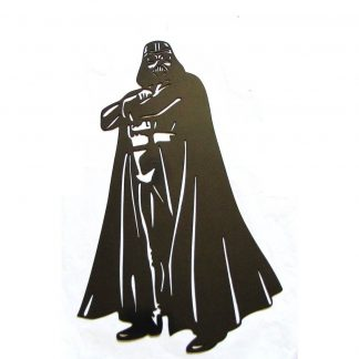 metal star wars darth vader standing wall art