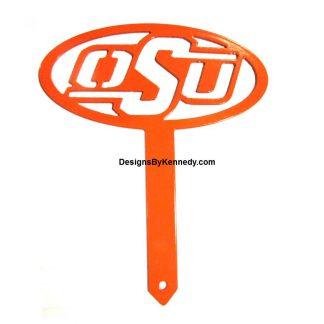 metal osu stake, oklahoma state university stake