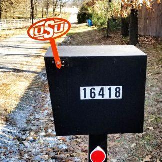 OSU Mail Box Flag