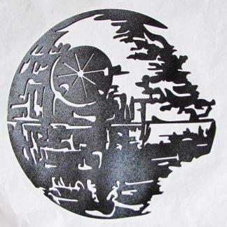 death star metal art
