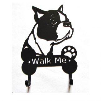 boston terrier leash hooks leash holders