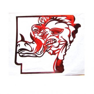 arkansas razorback sign