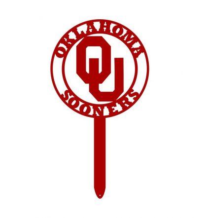 ou sign, university of oklahoma yard sign