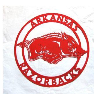 university of arkansas razorback sign